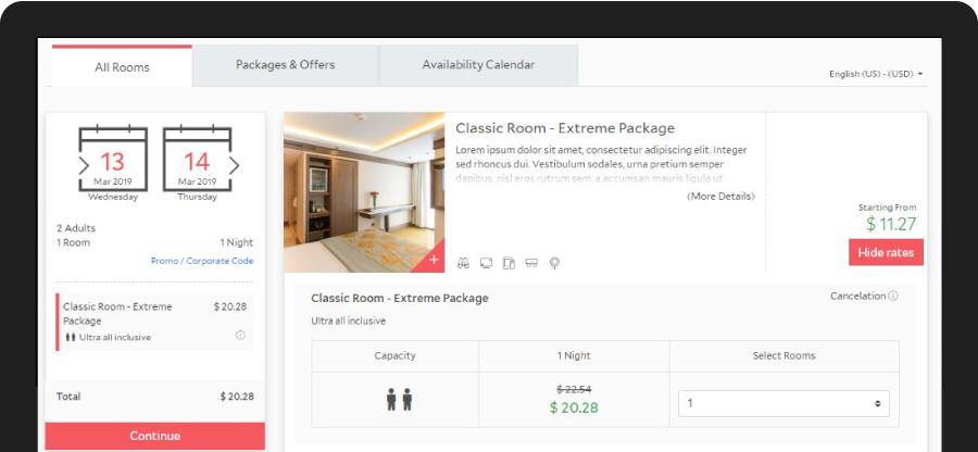 Booking Engine | HotelRunner